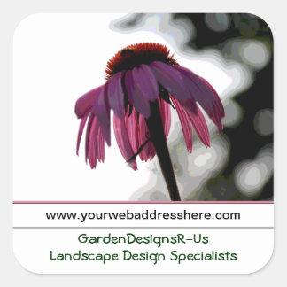 Landscape Garden Business Promotional Stickers