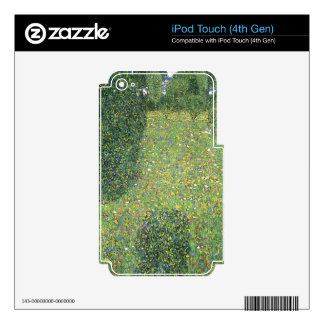 Landscape Garden (Meadow in Flower) Skin For iPod Touch 4G