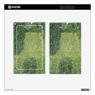 Landscape Garden (Meadow in Flower) Skins For Kindle Fire