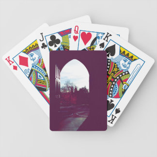 Landscape Glasgow, Scotland Bicycle Playing Cards