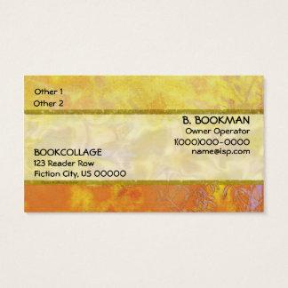 Landscape Harmony Satin Ribbon Business Card