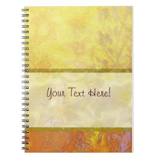 Landscape Harmony Satin Ribbon Spiral Notebook