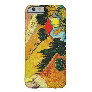 Landscape House and Ploughman  Vincent Van Gogh iPhone 6 Case