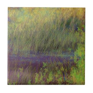 Landscape impressionism design tiles