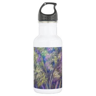 Landscape Impressionistic Tree Design 18oz Water Bottle