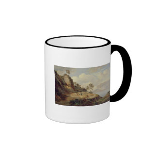 Landscape in Italy Ringer Coffee Mug