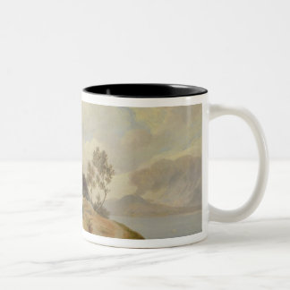 Landscape in Italy Two-Tone Coffee Mug