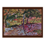 Landscape In Martinique By Gauguin Paul Postcard