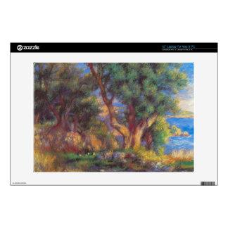 Landscape in Menton by Pierre Renoir Laptop Decals