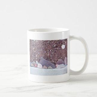 Landscape in Pebbles Coffee Mugs