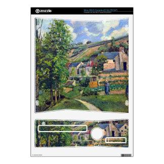 Landscape in Pontiose by Camille Pissarro Xbox 360 S Console Skin