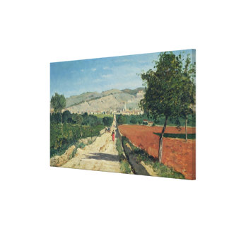 Landscape in Provence Canvas Print