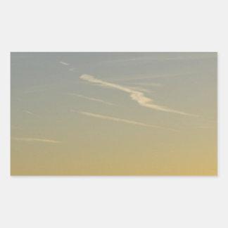 Landscape-in Rectangular Sticker