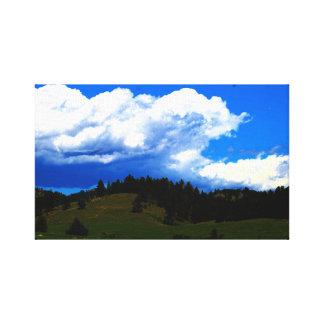 Landscape in South Dakota Canvas Print