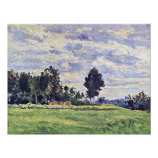 Landscape In The Ile De France By Paul Cézanne Invite