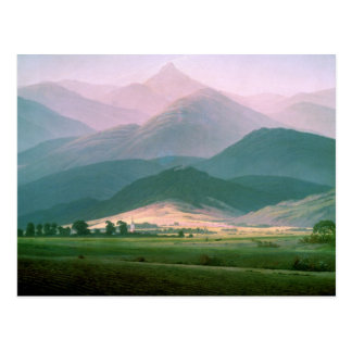 Landscape in the Riesengebirge, 1810-11 Postcard