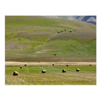 Landscape in the Sibillini Mountains in Italy Postcard