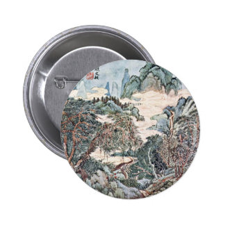 Landscape In The Style Of Chao Meng-Fu By Wang Pins
