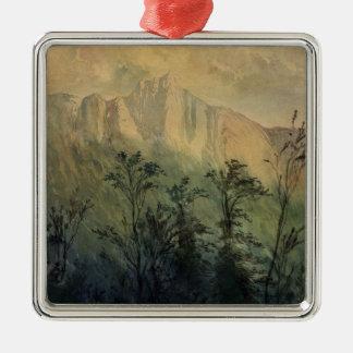 Landscape in the Vosges, c.1883 Metal Ornament