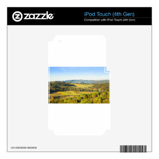 Landscape in Tuscany, Italy Skins For iPod Touch 4G