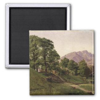 Landscape in Upper Bavaria, 1836 Magnet