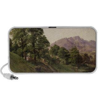 Landscape in Upper Bavaria, 1836 Portable Speakers