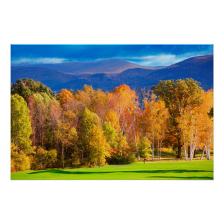 Landscape in Vermont Poster