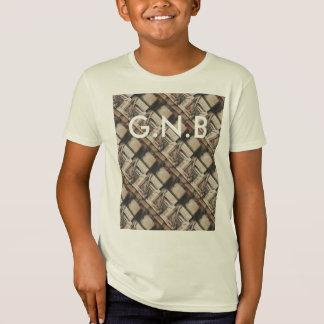 Landscape ink print digital pattern, customizable. T-Shirt