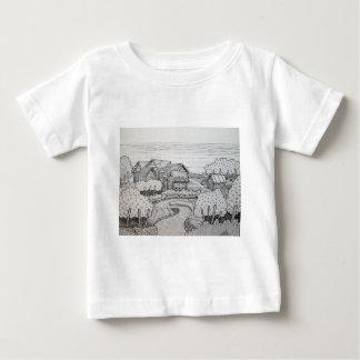 Landscape Inking 3 Baby T-Shirt