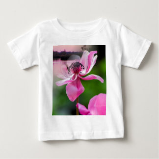 landscape lake and flower baby T-Shirt