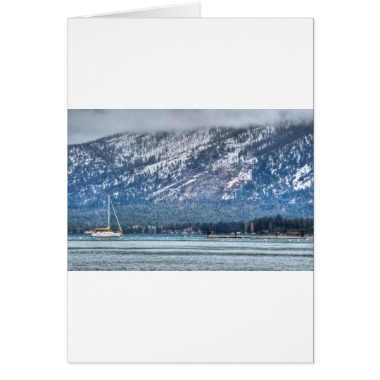 Landscape Lake Tahoe Card