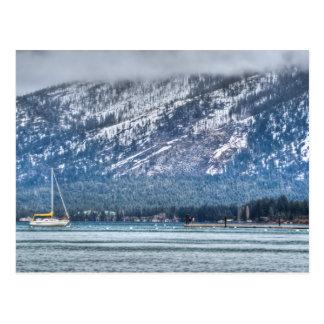 Landscape Lake Tahoe Postcard