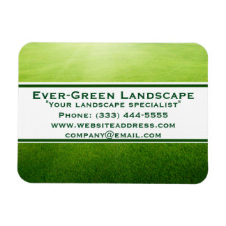 Landscape Lawn with Banner Magnets