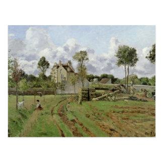 Landscape, Louveciennes, c.1872 Postcard