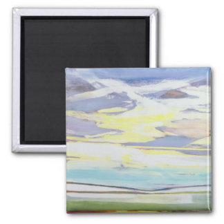 Landscape 2 Inch Square Magnet