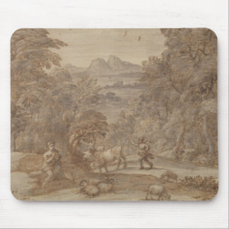 Landscape  Mercury and Apollo Mouse Pad