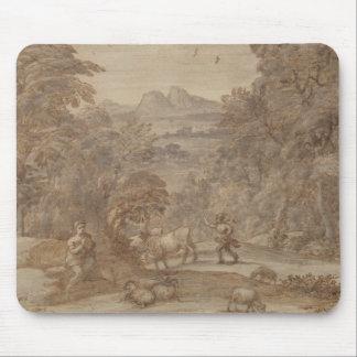 Landscape  Mercury and Apollo Mouse Pad