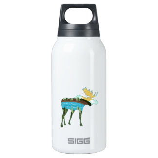 Landscape Moose 10 Oz Insulated SIGG Thermos Water Bottle