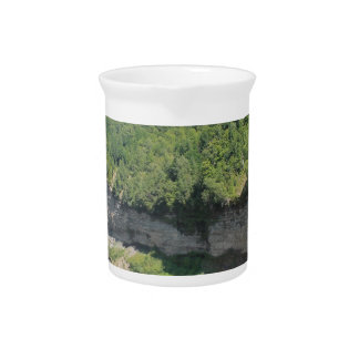 Landscape Natrue Scenery Beverage Pitcher