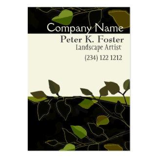 Landscape Nature Tree Branch Large Business Card