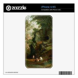 Landscape near Clifton, c.1822-23 (oil on canvas) Decal For iPhone 4