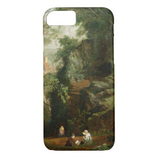 Landscape near Clifton, c.1822-23 (oil on canvas) iPhone 8/7 Case