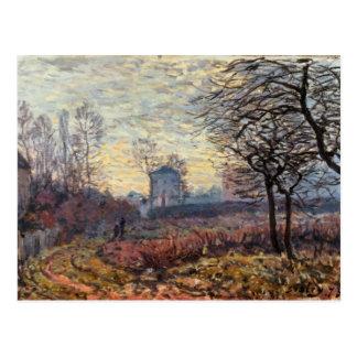 Landscape near Louveciennes, 1873 Postcard