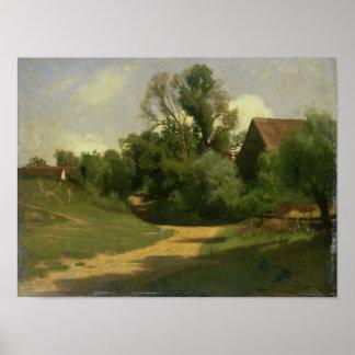 Landscape near Oberaudorf Poster
