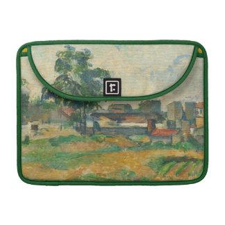 Landscape near Paris, c. 1876 (oil on canvas) Sleeve For MacBooks