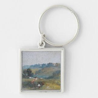 Landscape near Petworth, c.1828 Keychain