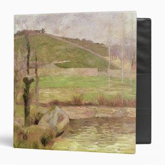 Landscape near Pont-Aven, 1888 3 Ring Binder