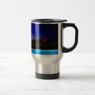 landscape northern kayaing 15 oz stainless steel travel mug