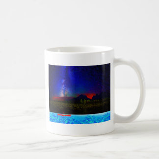 landscape northern kayaing classic white coffee mug