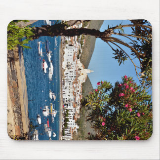 Landscape of Cadaqués in Spain Mouse Pad